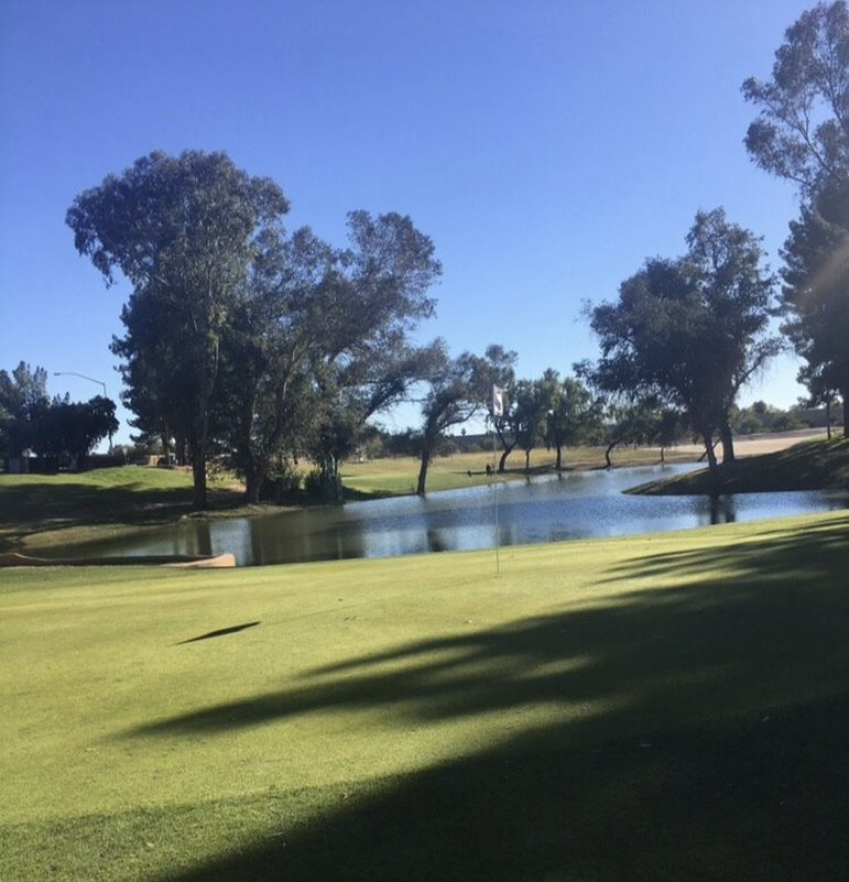 Stripe Show Golf Course